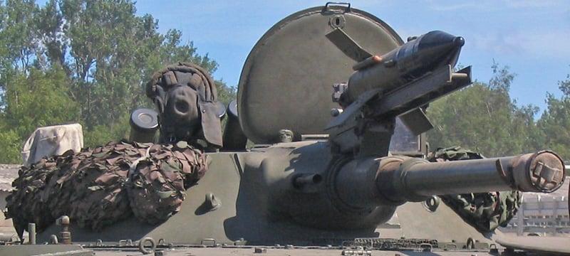 BMP-1 and Malyutka ATGM