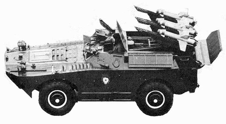 BRDM-1 TWAV 3M6 Shmel (AT-1 Snapper)