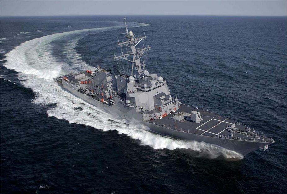 USS Harvey C. Barnum Jr. (DDG-124)