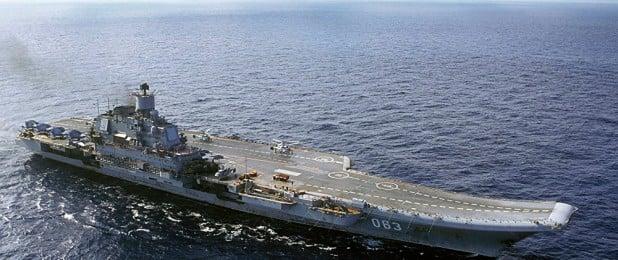 Rusya uçak gemisi Amiral Kuznetsov