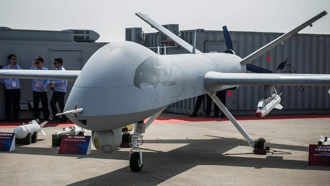 Çin üretimi Wing Loong II S/İHA