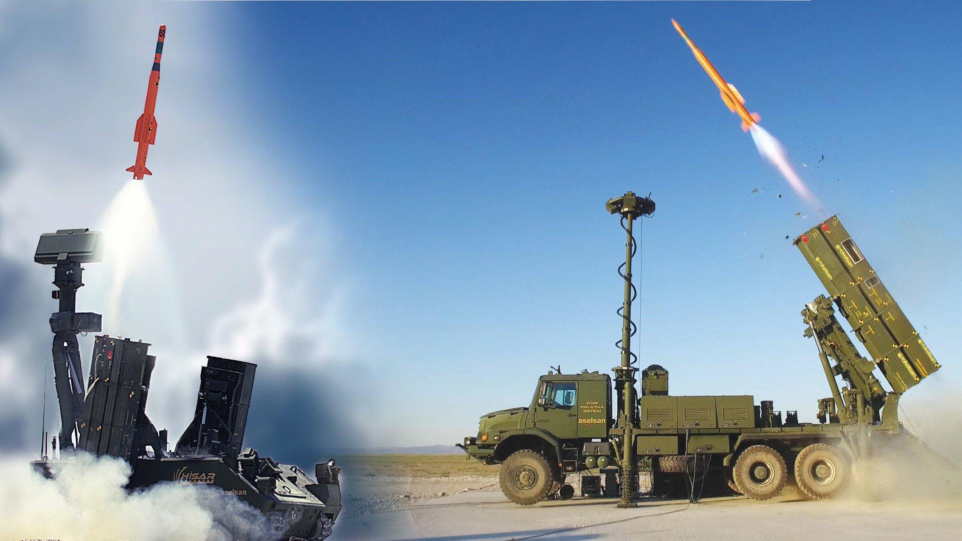 HİSAR-A ve HİSAR-O hava savunma sistemlerinde son durum