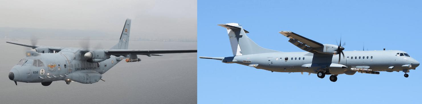 CASA CN-235-100M MPA and ATR-72-500 Meltem