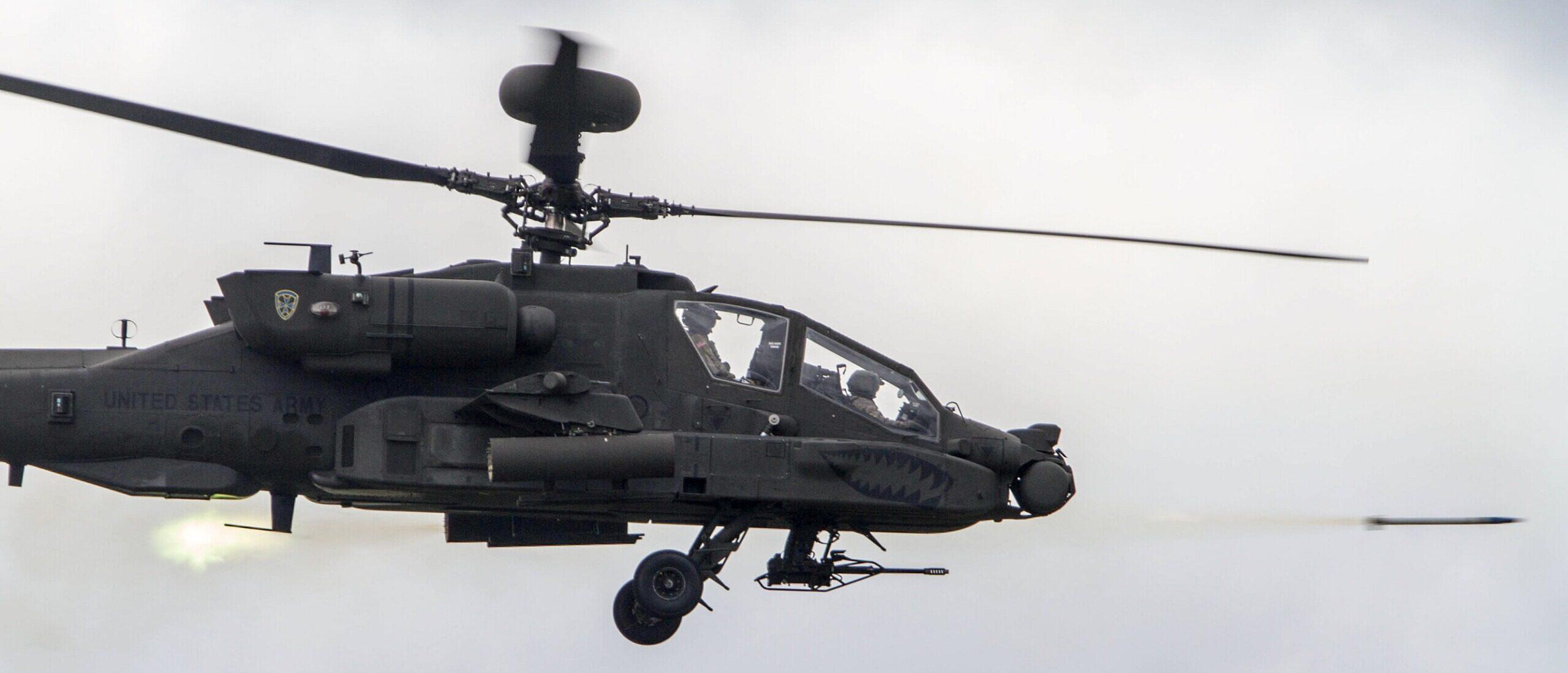 ABD FMS/Kuveyt AH-64 Apache Helikopteri