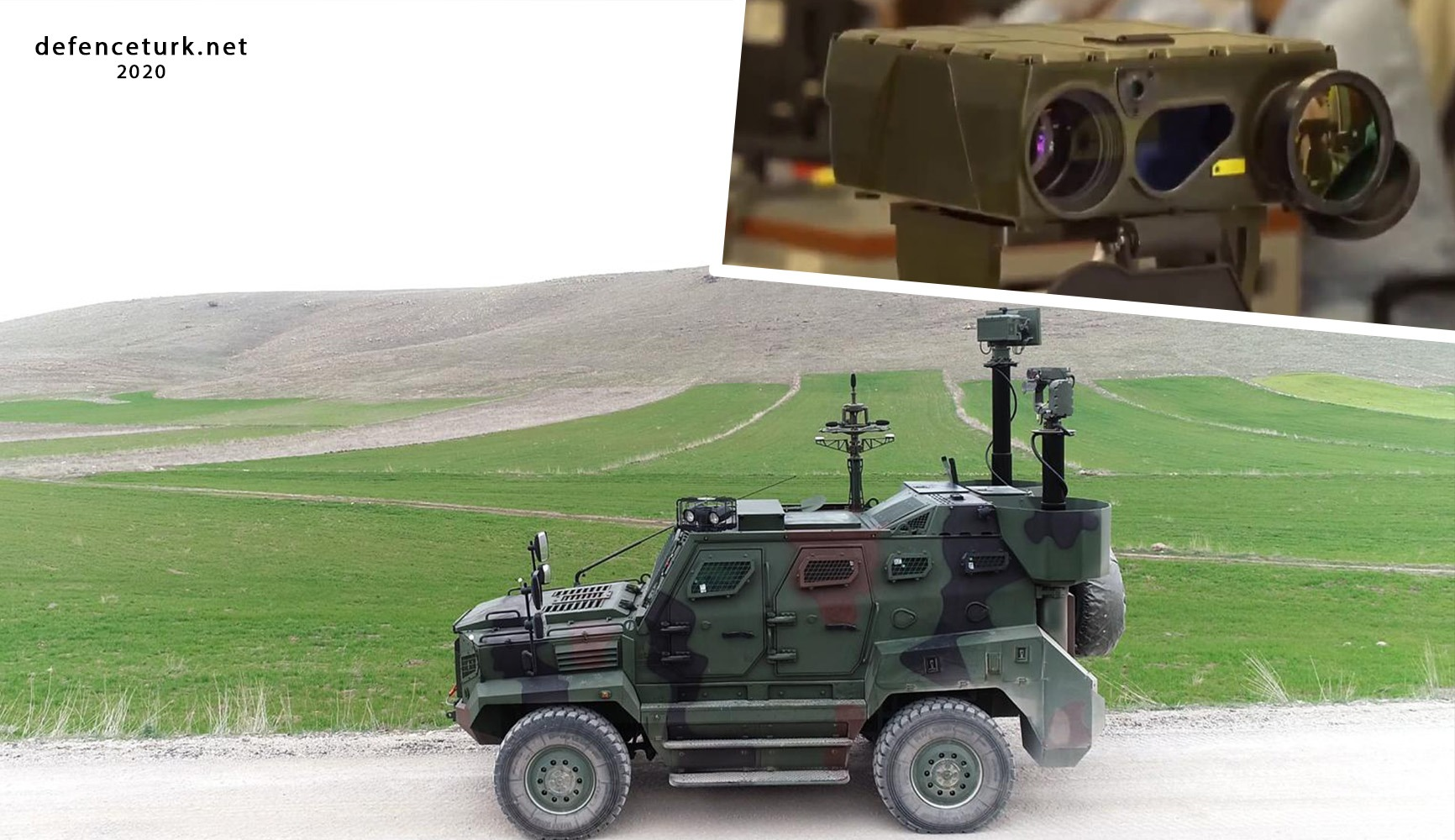 Jandarma'ya Şahingözü-OD Termal Kameraların ilk teslimatı yapıldı
