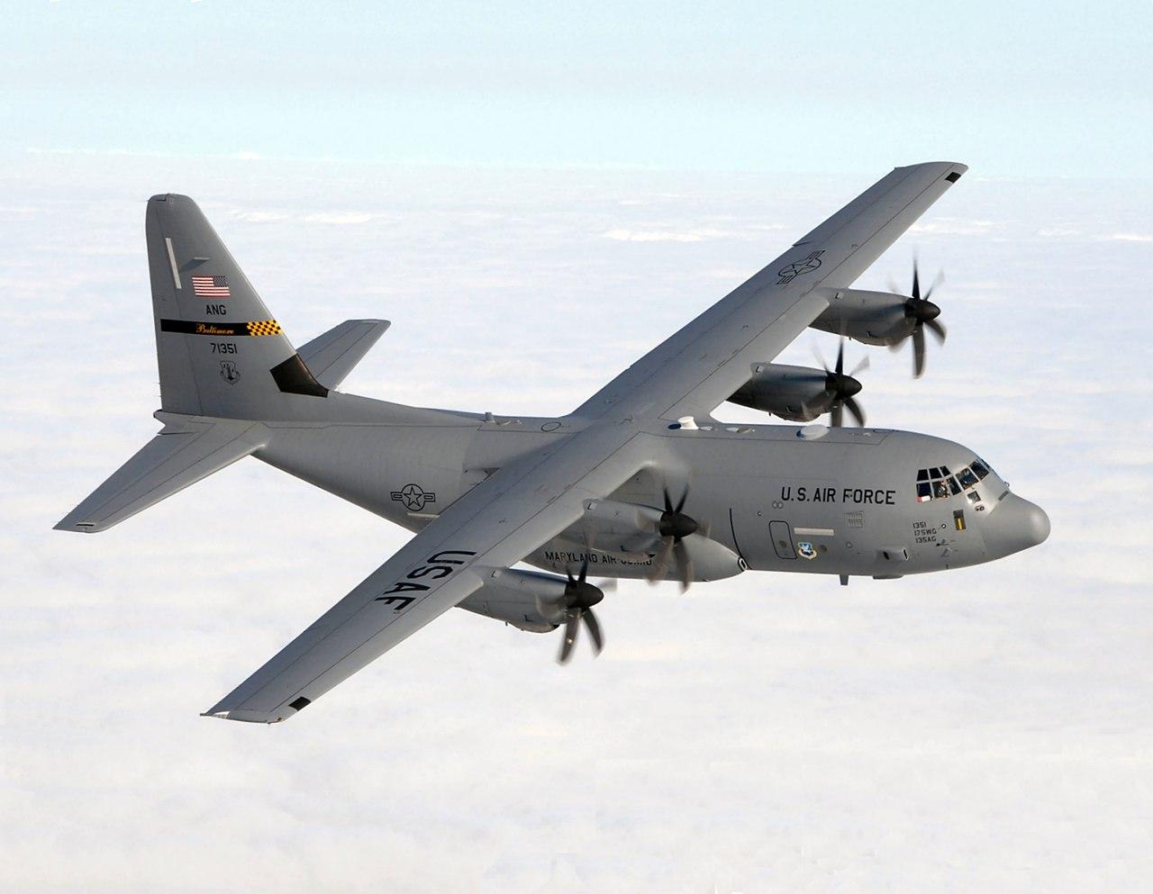 Lockheed Martin C-130J Hercules aircraft