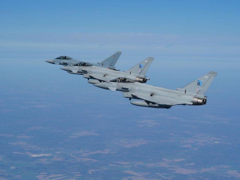 RAF Typhoon Birleşik Krallık