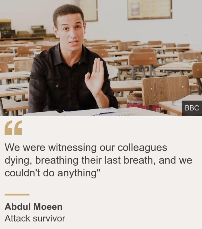 BBC Libya Saldırı öğrenci