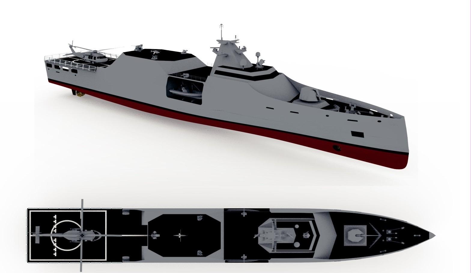 STM Açık Deniz Karakol Gemisi: OPV-1900