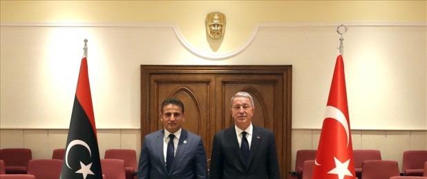 Bakan Hulusi Akar Libya Savunma Bakanı