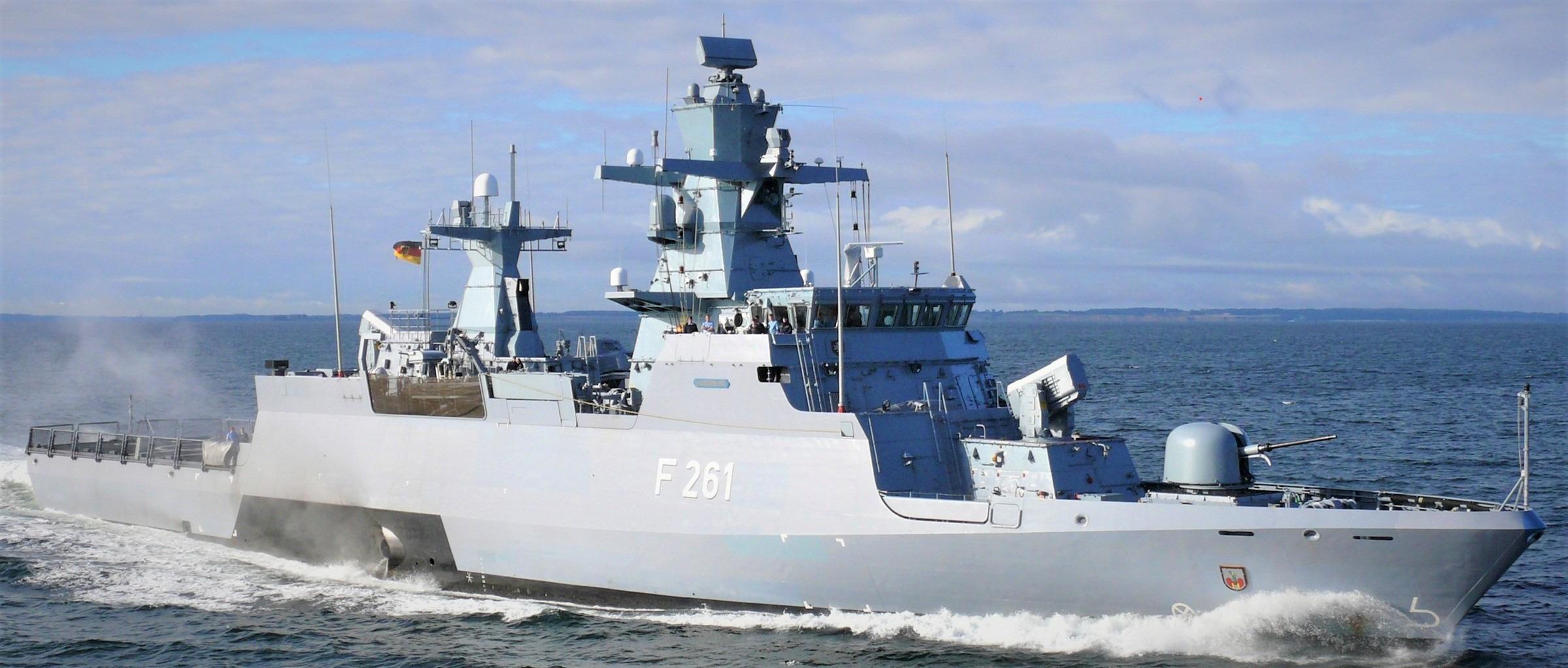 almanya donanması k130 korvet