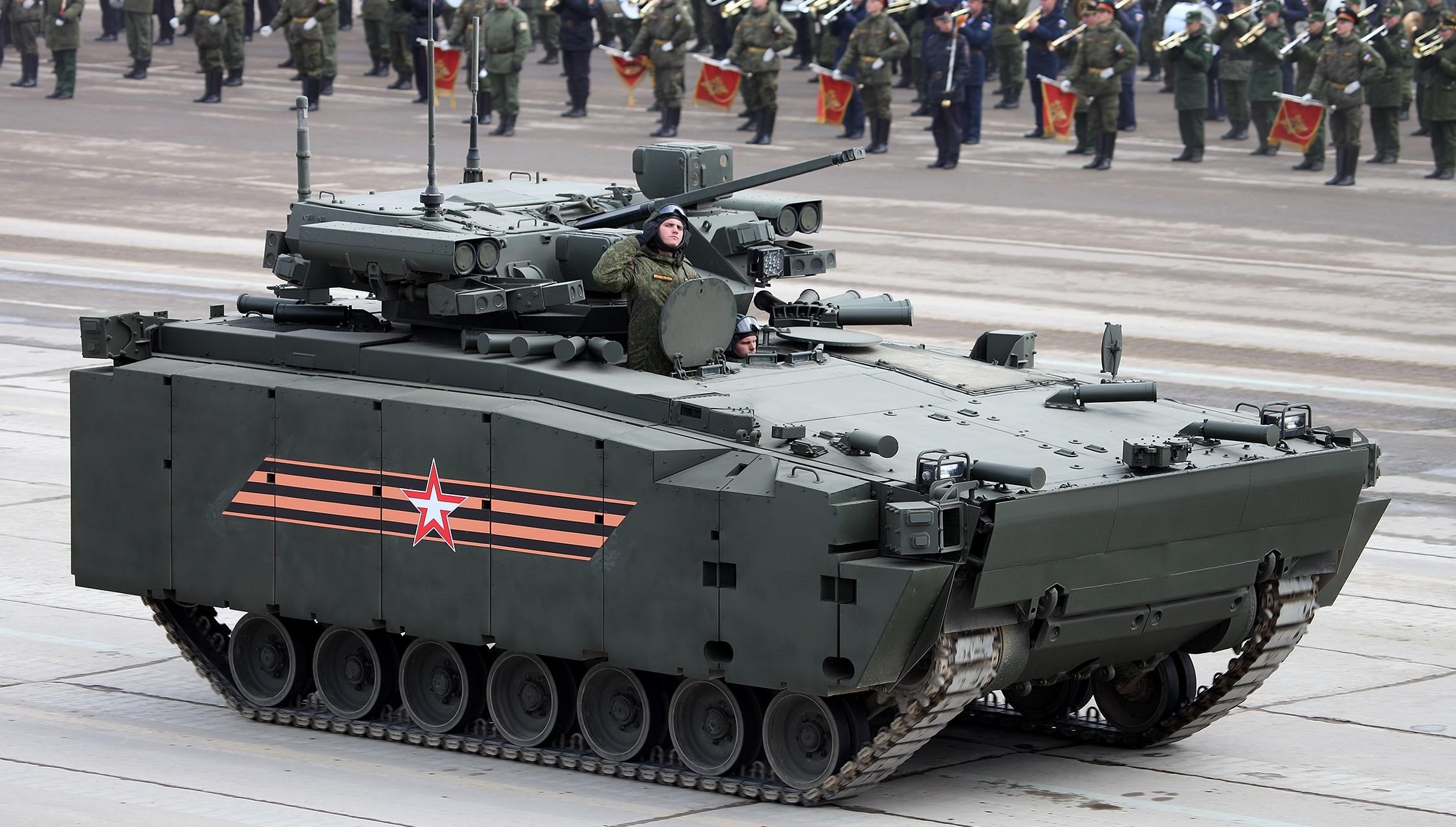 Rusya Kurganets-25
