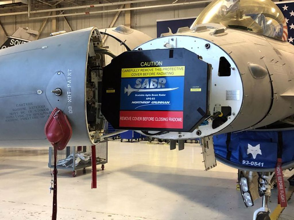 AN/APG-83 SABR AESA Northrop Grumman