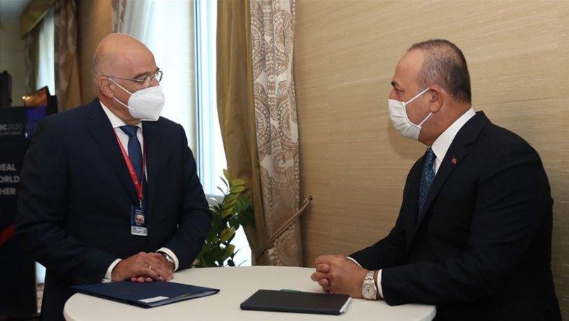 Türkiye ile Yunanistan istikşafi görüşmelerin yapılmasında mutabık kaldı