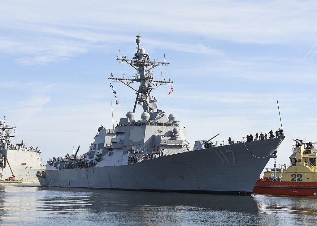 Arleigh Burke sınıfı USS Paul Ignatius (DDG-117)