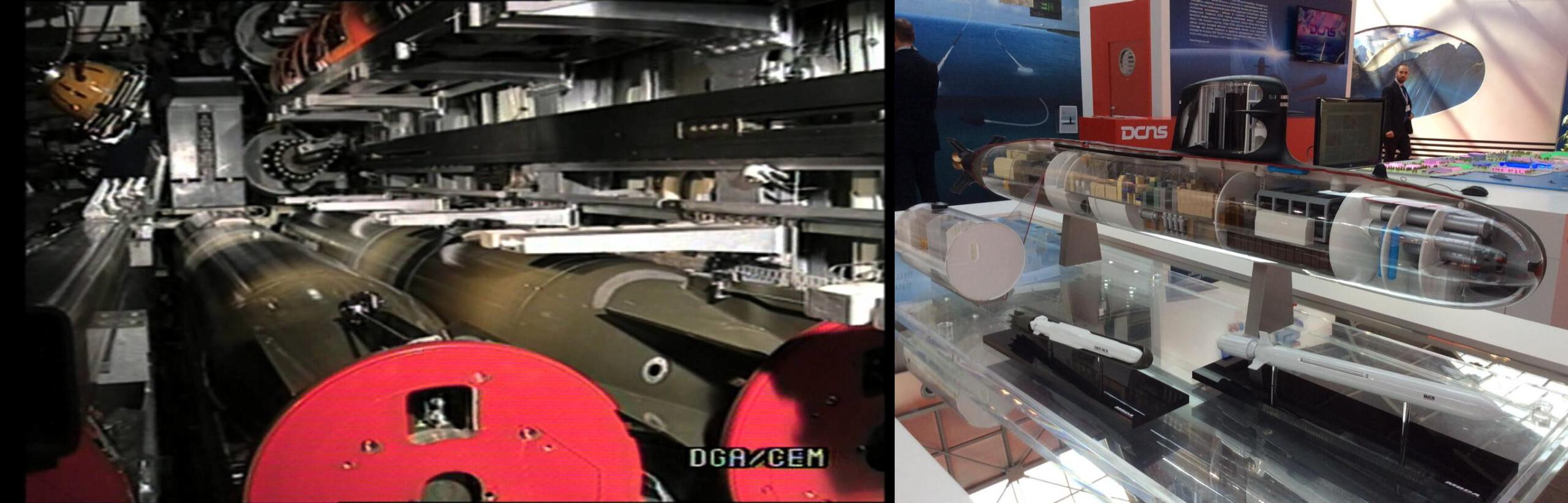 Scorpene - MBDA SM-39 Exocet gemisavar füzesi