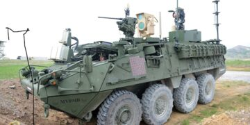 Lazer Silahlı 8x8 Stryker - ABD
