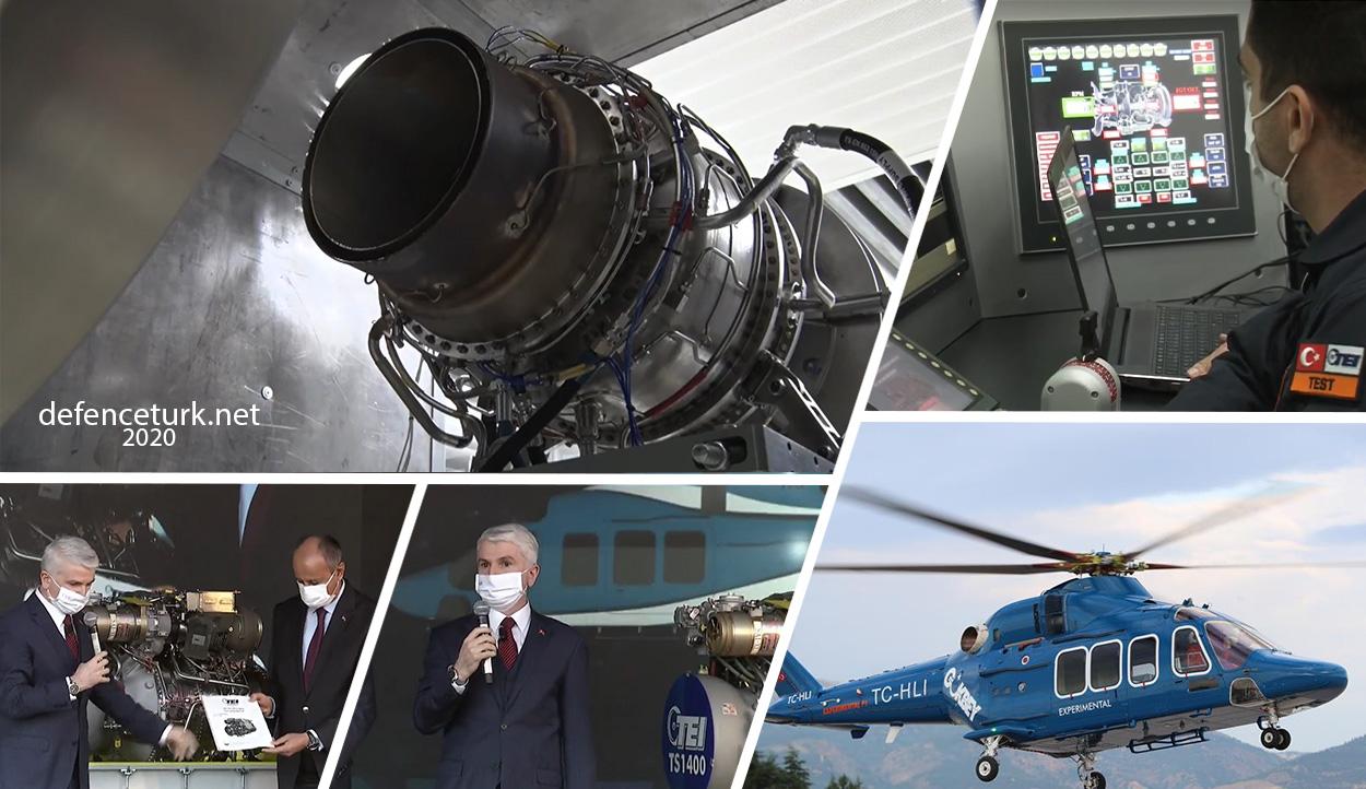TEI, milli motor TS1400'ün ilk prototipini TUSAŞ'a teslim etti | DefenceTurk