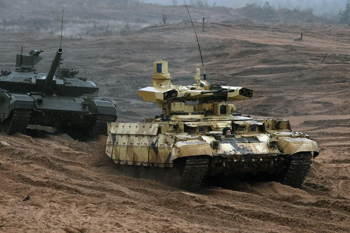 Rusya Terminator BMPT muharebe aracı
