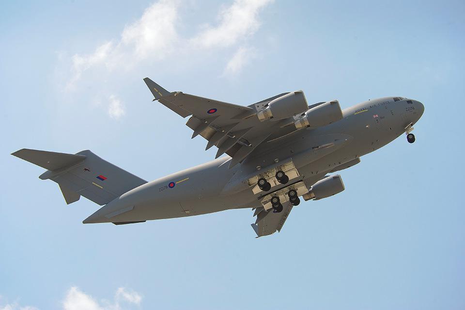 Birleşik Krallık Boeing C-17