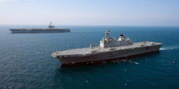 LPX-I Dokdo uçak gemisi kuzey kore