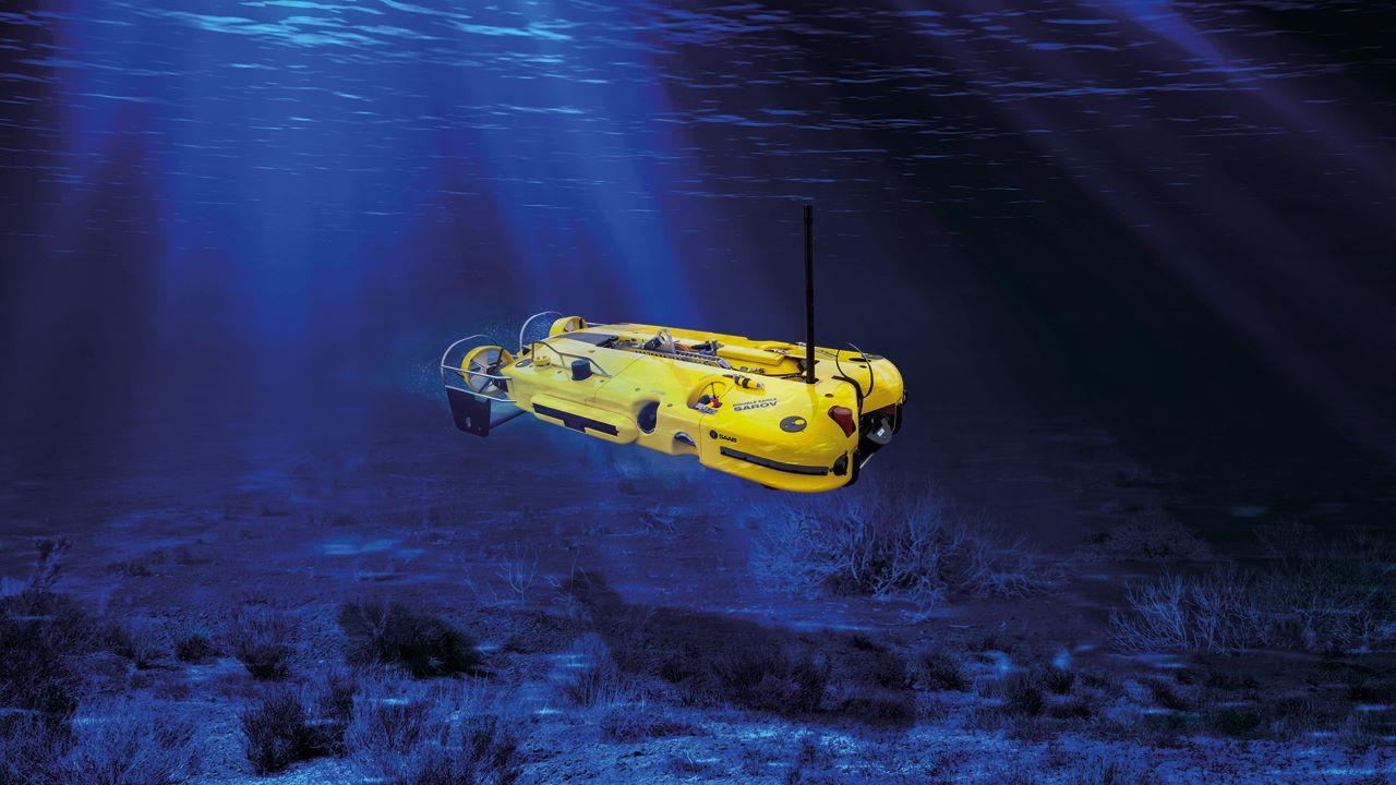 su altı mayın imha robotu