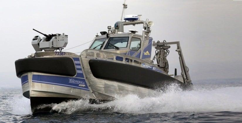 Seagull insansız su üstü aracı (USV) - İsrail