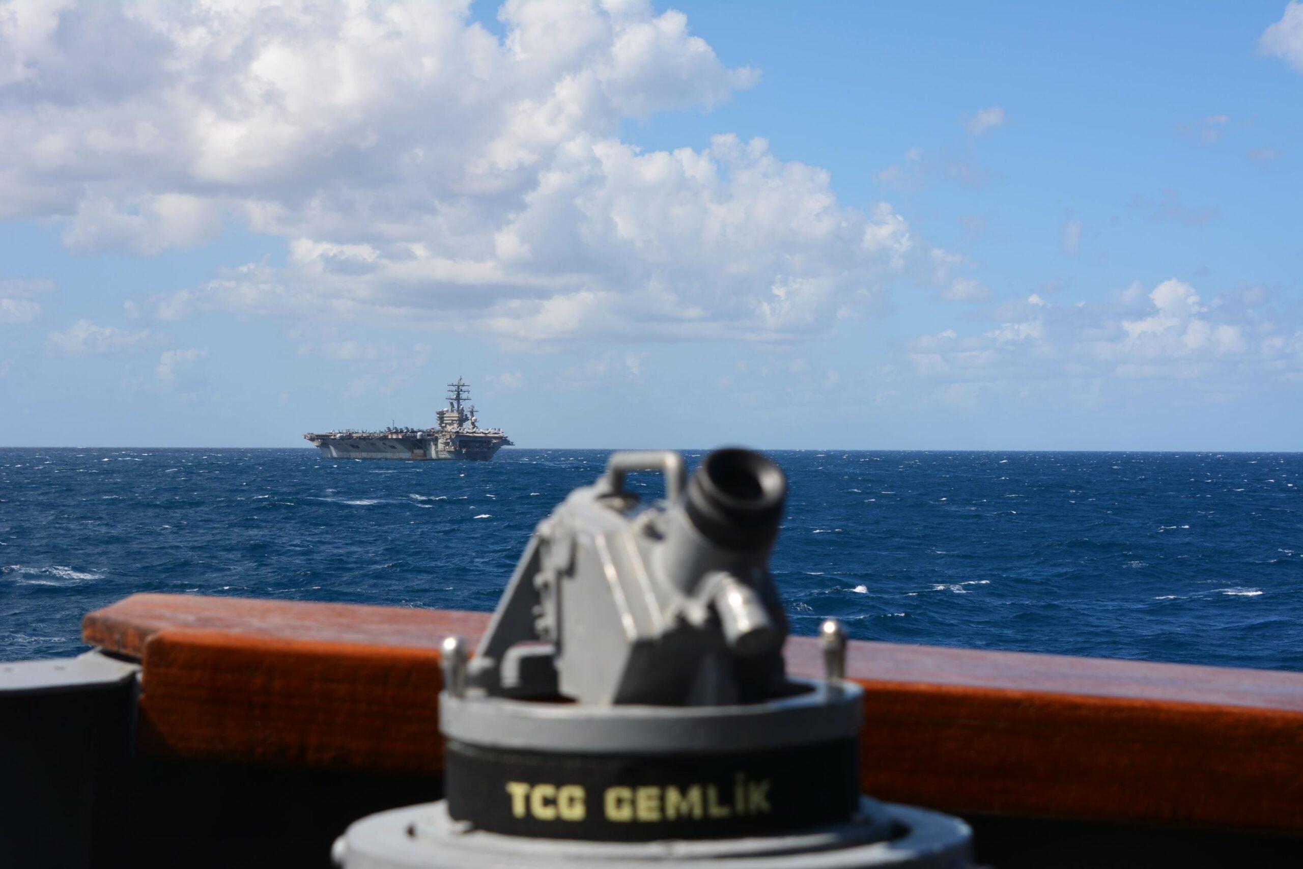 Doğu Akdeniz geçiş eğitimi. Görsel: Milli Savunma Bakanlığı