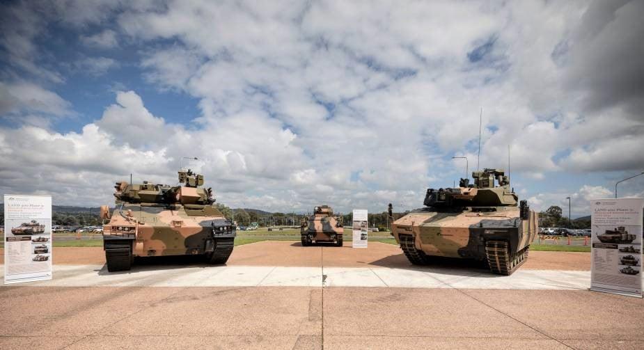 Hanwha Redback ve Rheinmetall Lynx ZMA - Avustralya