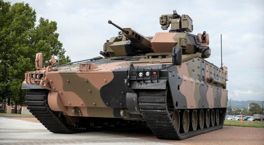 Hanwha Defense Australia'nın AS21 Redback ZMA'sı