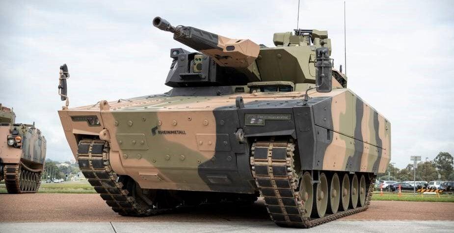 Rheinmetall Defence Australia'nın Lynx KF41 ZMA'sı