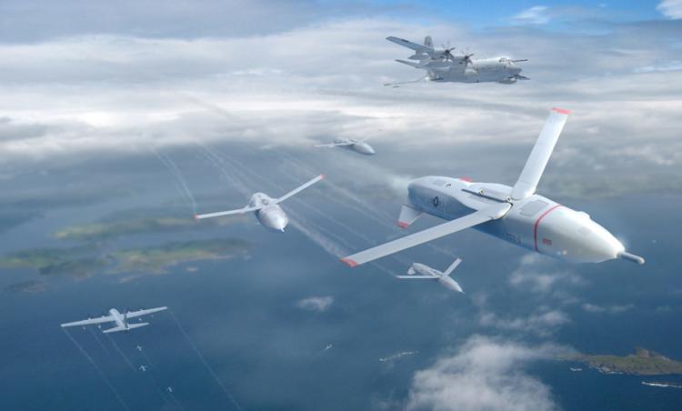 ABD Donanması insansız deniz araçlarından İHA sürülerini fırlatmayı planlıyor