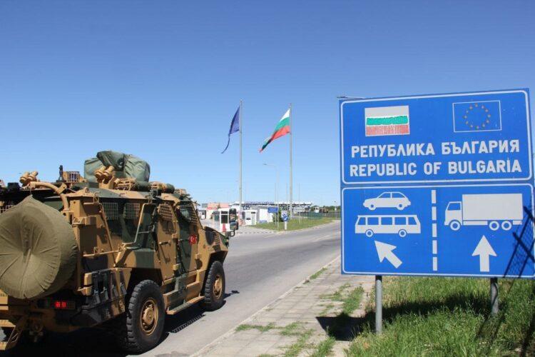 NATO tatbikatına katılacak TSK birlikleri Bulgaristan'a ulaştı