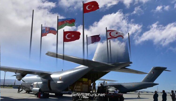 Uluslararası Anadolu Ankası 2021 Tatbikatı Konya'da icra ediliyor